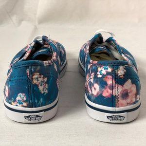 e84b7e58ec Vans Shoes - Vans Authentic Kids Lo Pro Blurred Floral Poseidon